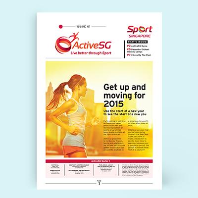 ActiveSG Newsletter